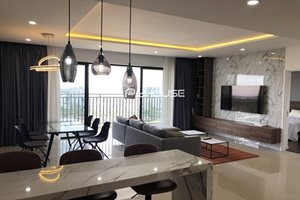Big size 3 bedroom apartment for rent in The View - Riviera Point with full new furniture