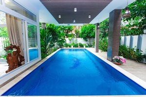 Luxury single villa for rent with private swimming pool in Hillview district of Phu My Hung