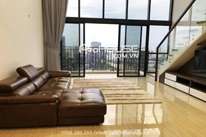 Good rent duplex apartment in The View Riviera Point for rent with modern furniture