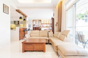 Amazing apartment in Riverside for rent, 3 bedrooms, 158 sqm, modern design, 180 degree river view