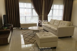Beautiful apartment for rent in Happy Valley, District 7, good rental, 134 sqm