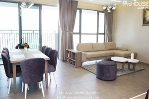 3 bedroom apartment for rent in District 7, 148 sqm, river view, new and nice building