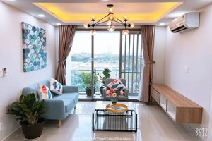 Scandinavian style apartment for rent in Happy Residence with low rental