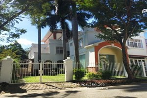 BIG SIZE VILLA FOR RENT IN PHU MY HUNG, 4 bedrooms, fully modern furniture, large garden