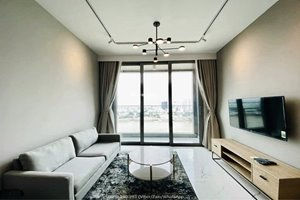 2 bedroom apartment for rent in Tilia Residences with river view and full furniture