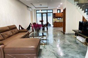 A cozy villa for rent in Lavila Compound with full and well-equipped furniture