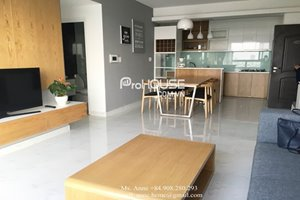 Luxury apartment for rent in Phu My Hung center, near SSIS, modern furniture, nice view