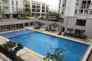 Penthouse for rent in Star Hill, Phu My Hung, luxury furniture, 4 bedrooms, fully furnished, nice view