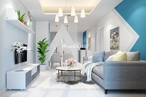 Luxury 2 bedroom apartment for rent in Saigon South Residences developed by Phu My Hung