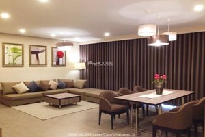 Big size 3 bedroom apartment in Riviera Point for rent with good condition furniture