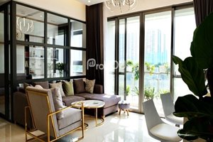 Low floor apartment for rent in River Park Premier with river view