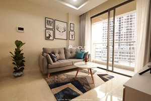Affordable 2 bedroom apartment for rent at the CBD in Ho Chi Minh City, luxury furniture