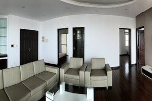 4 bedroom penthouse for rent in Phu My Hung center with river view