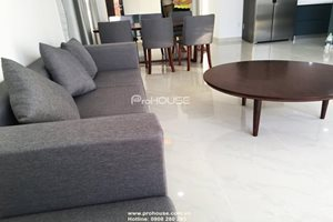 3 bedroom apartment in Green Valley for rent, simple and modern design
