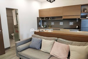 Modern serviced apartment for rent in District 7 with large kitchen