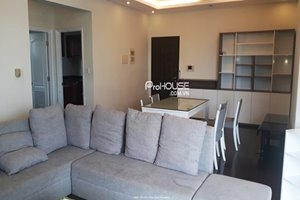 Cozy 3 bedroom apartment for rent in Green View, high floor, nice furniture