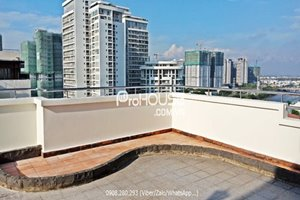 Duplex penthouse in My Khanh Phu My Hung for rent with full furniture