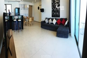 Luxury 2 bedroom apartment for rent in District 7, 99 sqm, $1,000 per month, full modern furniture
