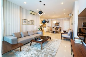 Luxury 3 bedroom apartment for rent in Saling Tower District 1, full furniture