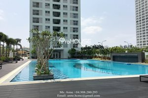 House for rent in Happy Valley, Phu My Hung, good rental, nice service, spacious rooms