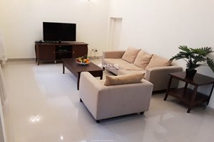 Cheap villa for rent in District 7 with full furniture and near Crescent Mall