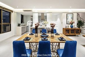 The most beautiful penthouse for rent in The Panorama Phu My Hung