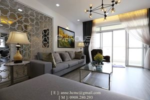 Spacious apartment in Riverside Residence for rent, Phu My Hung, mazing view to the river, new furniture