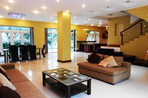 A beautiful villa for rent in Phu Gia compound, Phu My Hung, 4 bedrooms, nice and large garden