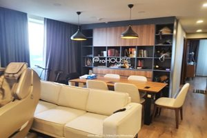 Big size 2 bedroom apartment for rent in Happy Residence (Hung Phuc) with cozy furniture