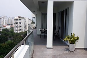 Penthouse for rent on Nguyen Duc Canh street, near An Nam market, SSIS Phu My Hung