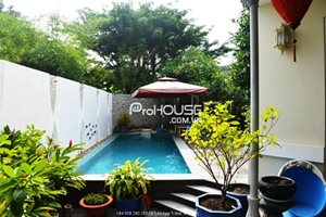 Villa for rent with swimming pool in Hung Thai Compound Phu My Hung District 7