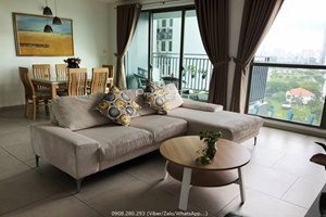 2 bedroom in Riviera Point for rent with beautiful view to Phu My Hung area
