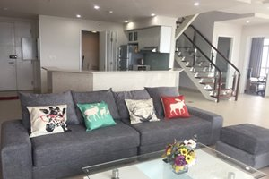Affordable duplex for rent in Phu My Hung center, 175 sqm, 3 bedrooms, full furniture