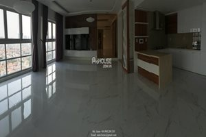 Unfurnished apartment for rent in Phu My Hung, brand new furniture, water front, 3 bedrooms