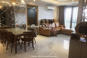 Low rental 2 bedroom in Happy Residence with full furniture and nice view