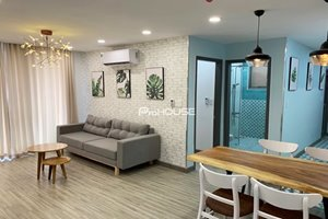 Beautiful 2 bedroom apartment with quiet view in Hung Phuc- Happy Residence for rent